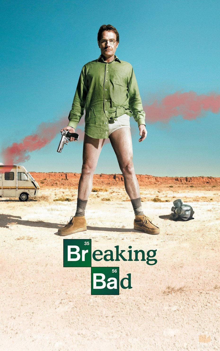 Affiche de Breaking Bad Saison1
