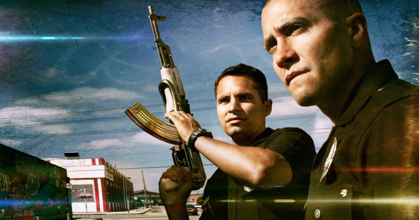 Bannière du film End of Watch avec Jake Gyllenhaal et Michael Peña