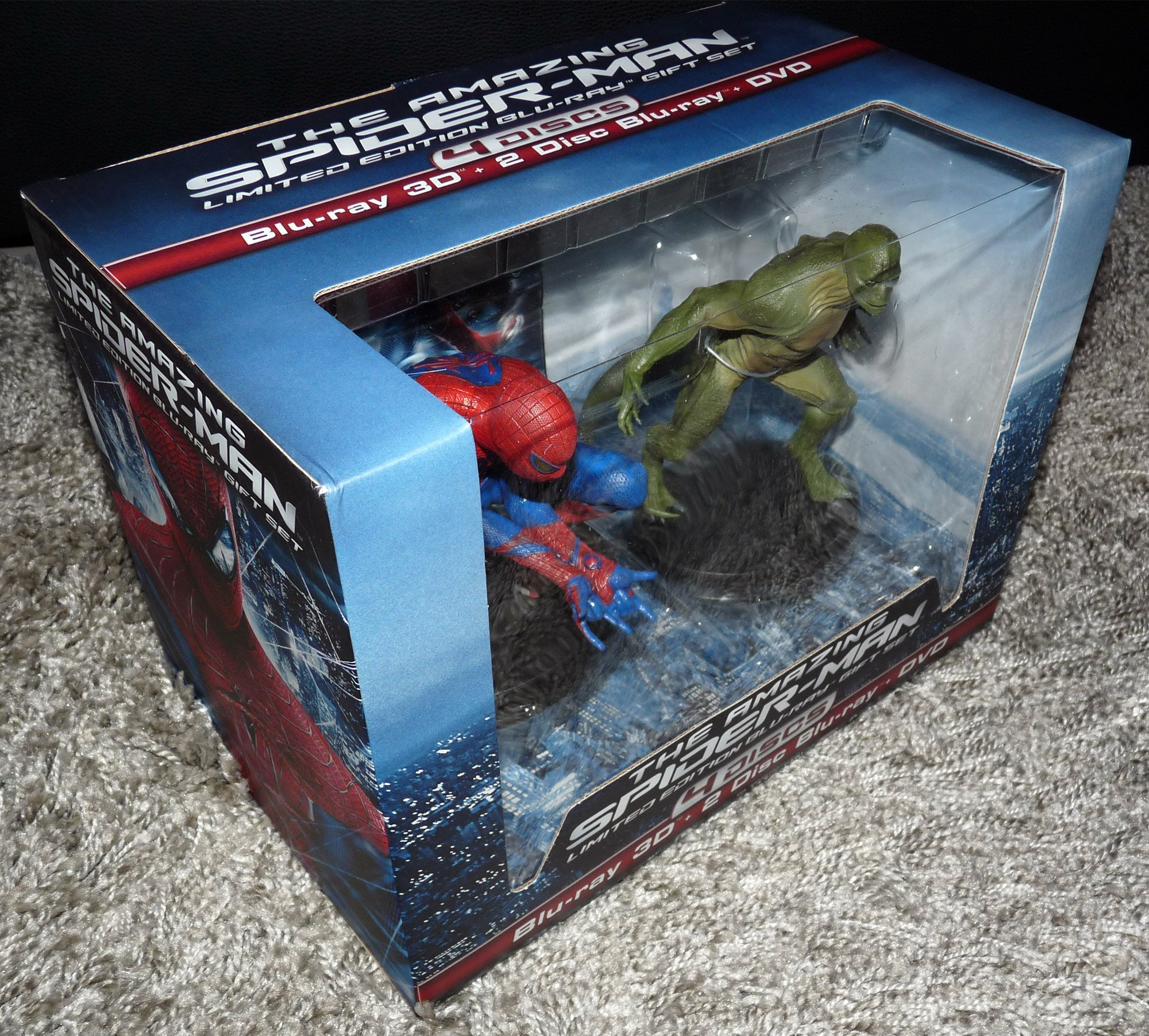 The Amazing Spider-Man – Edition limitée avec figurines