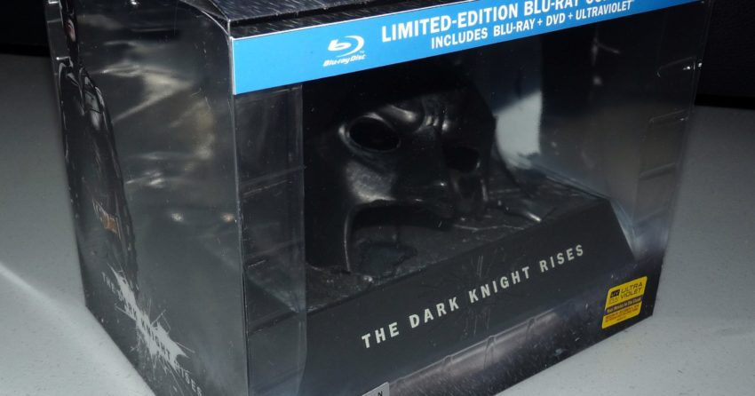 Coffret collector Batman The Dark Knight Rises Boitier