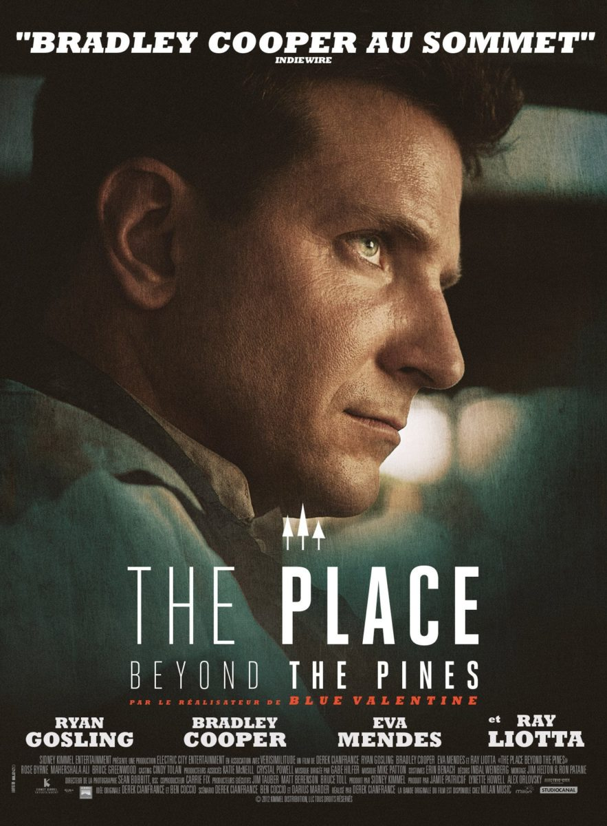 Poster du film The Place Beyond the Pines avec Bradley Cooper