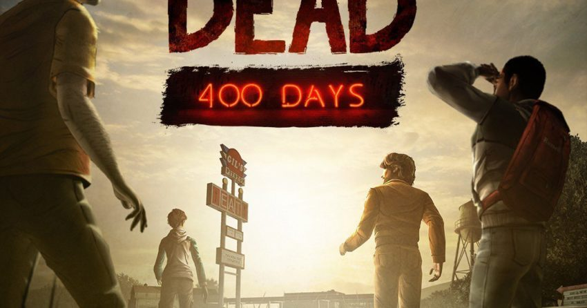 Poster du jeu vidéo The Walking Dead : 400 Days
