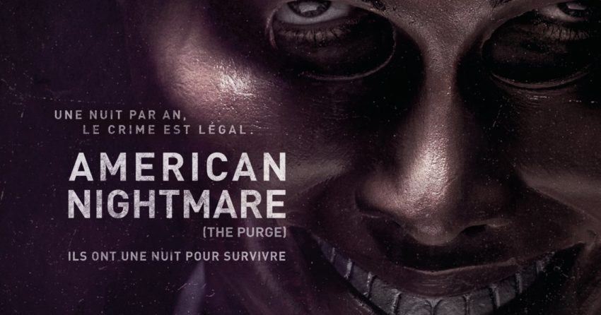 Affiche du film American Nightmare réalisé par James DeMonaco