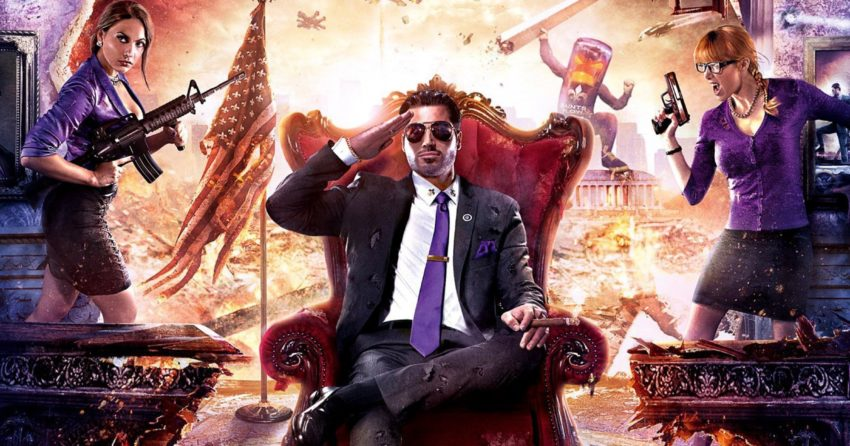 Poster de Saints Row IV