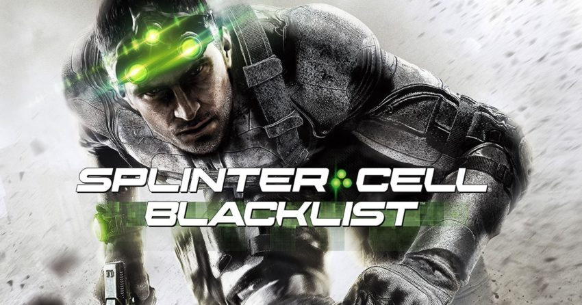 Poster de Splinter Cell Blacklist