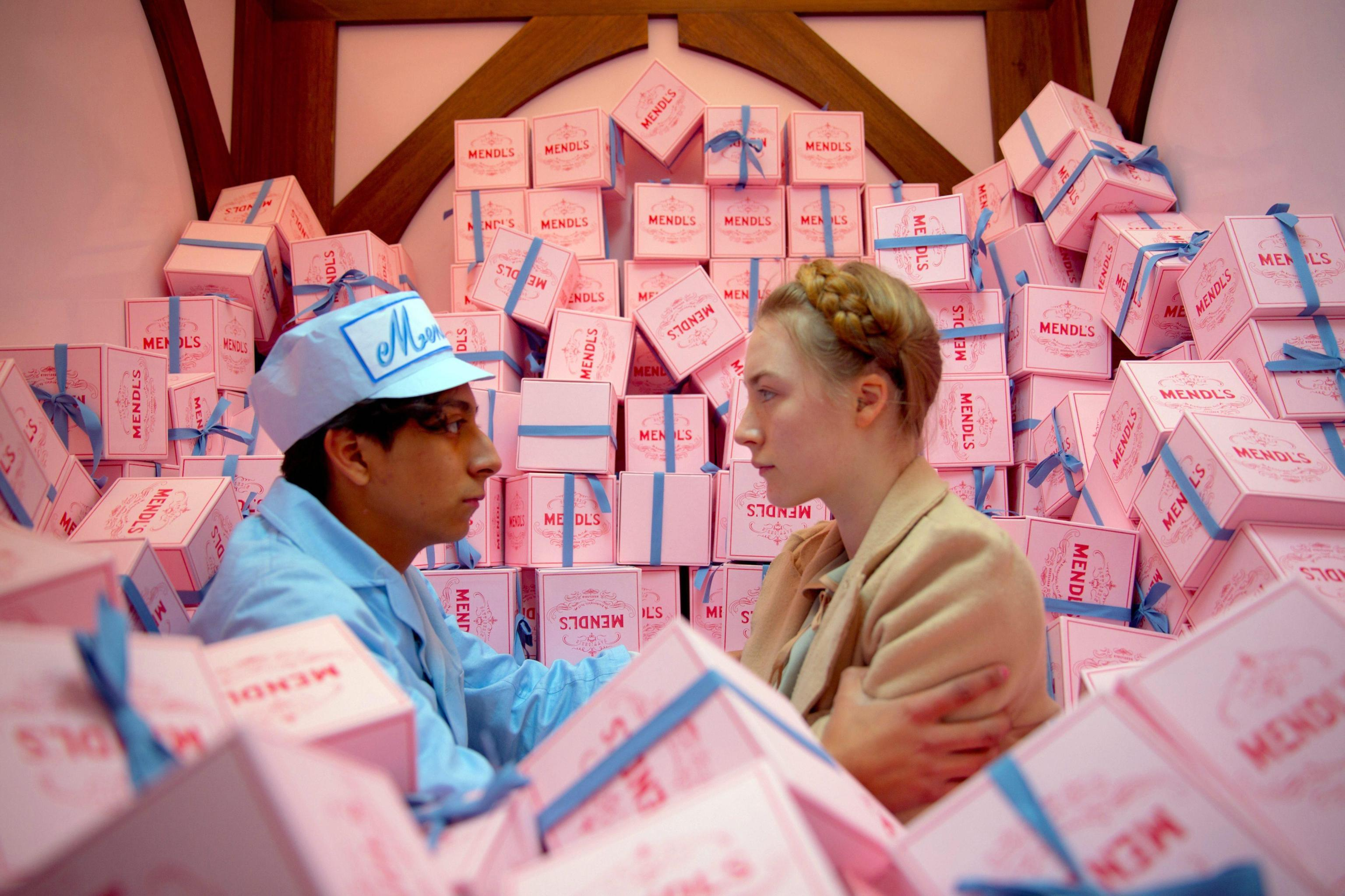 The Grand Budapest Hotel Photo Saoirse Ronan