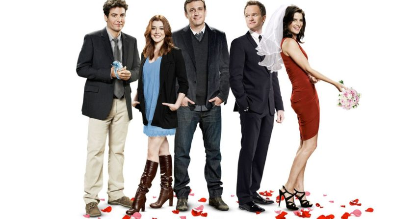 Bannière de la saison 9 de la série How I Met Your Mother