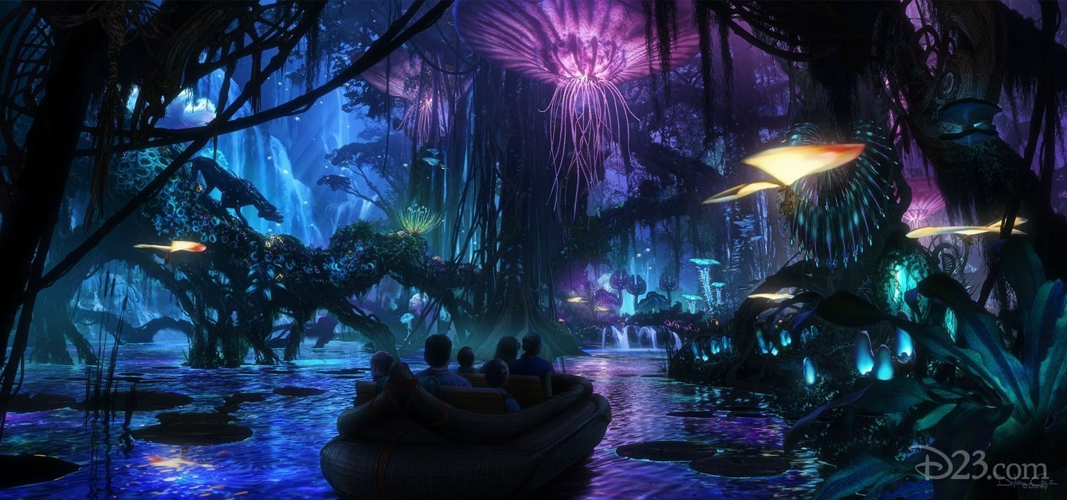 Photo de l'attraction Disney pour le film Avatar