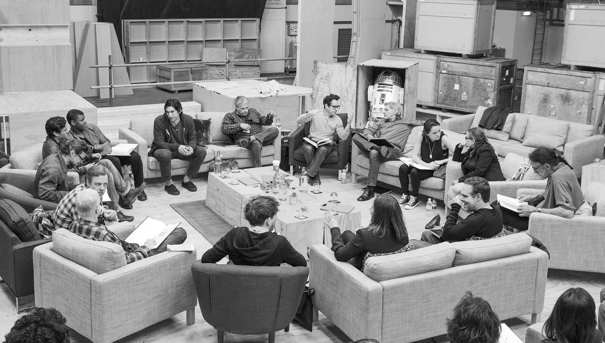 Star Wars 7 Casting Photo