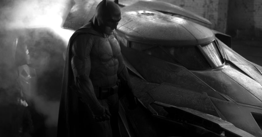 Photo Batman vs. Superman Batman