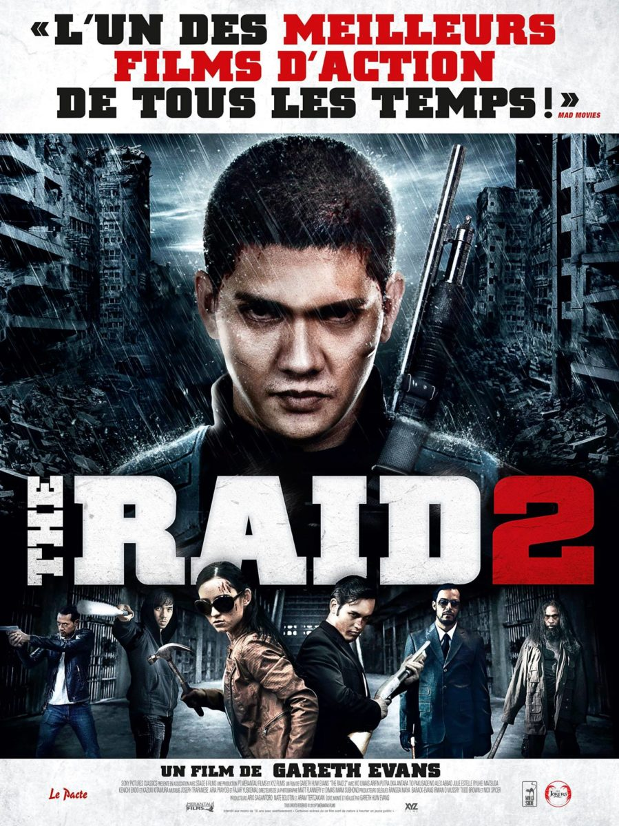 Affiche France The Raid 2: Berandal