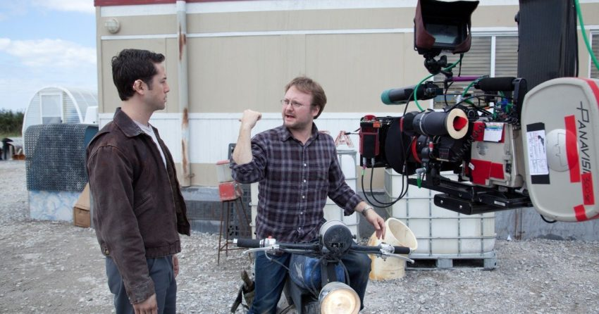 Photo Rian Johnson Looper Tournage
