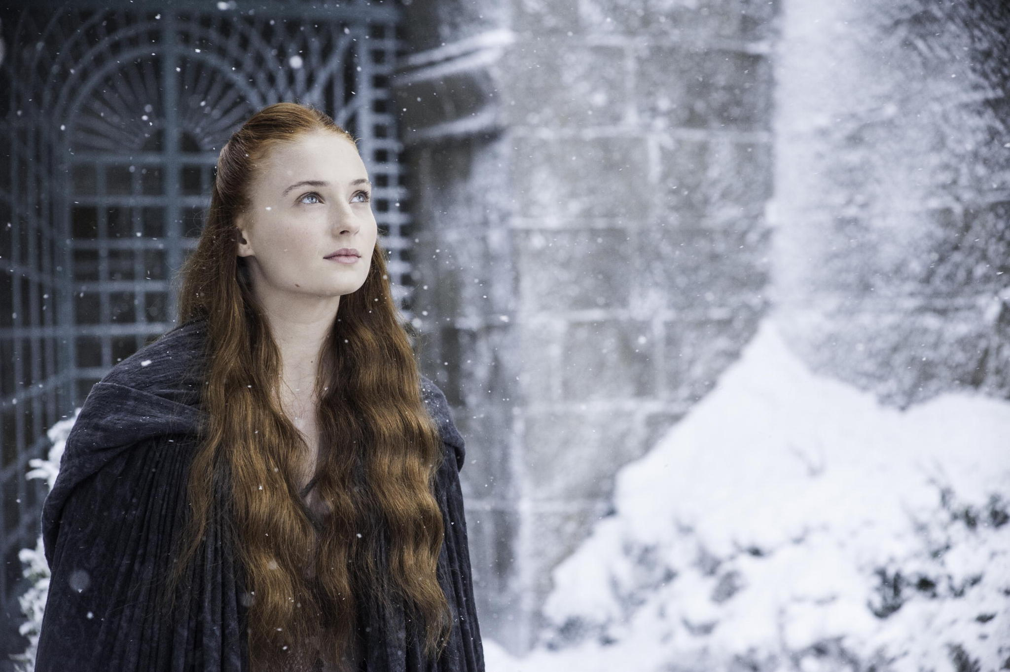 Photo de la saison 4 de la série Le Trône de fer : Game of Thrones de D.B. Weiss et David Benioff avec Sansa Stark (Sophie Turner)