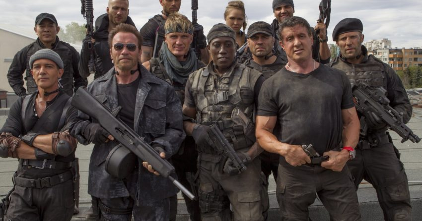 Photo d'Expendables 3 avec le casting au complet