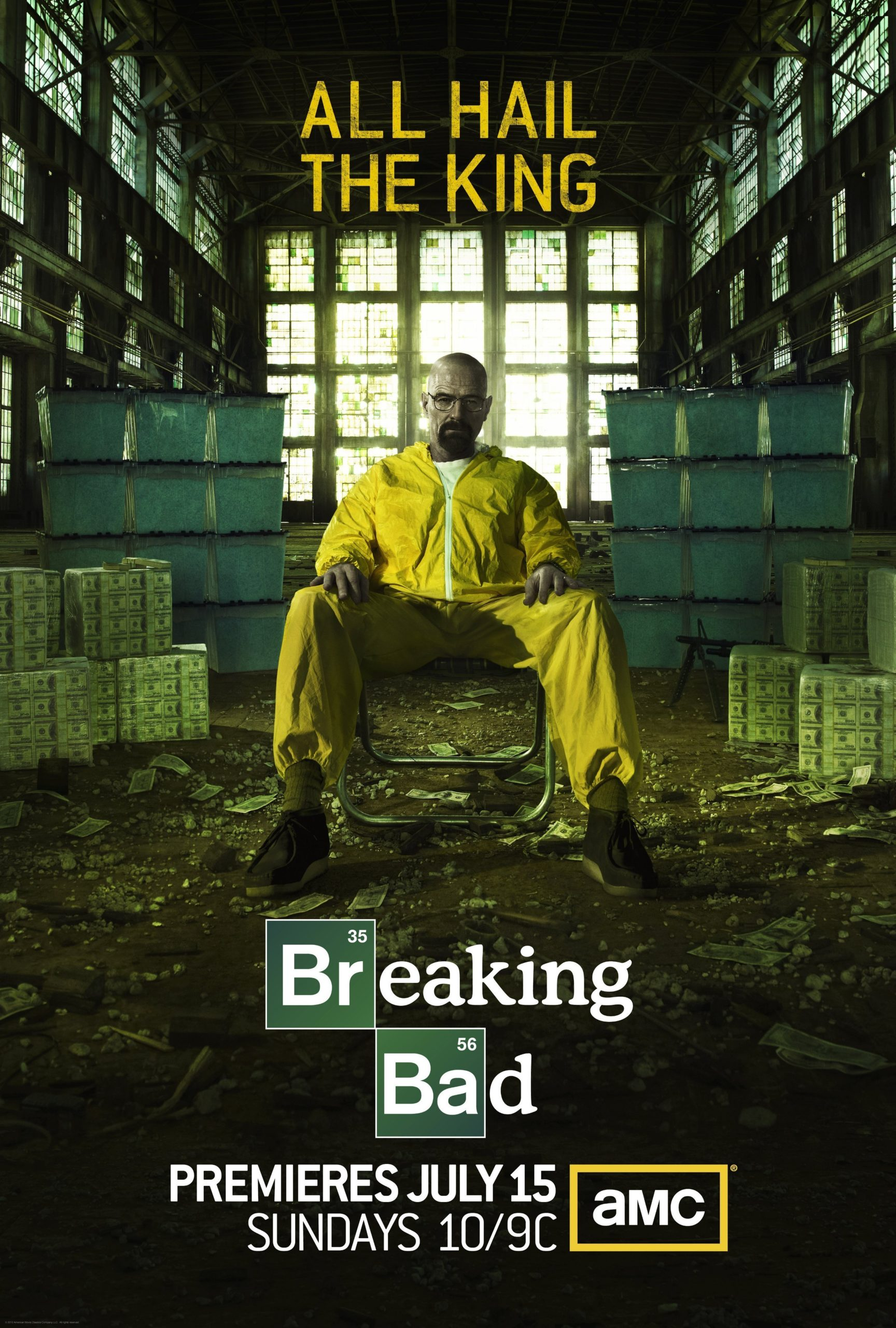 Poster de la saison 5 de Breaking Bad