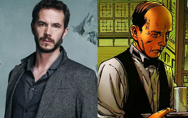 Photo de James D'Arcy et Edwin Jarvis