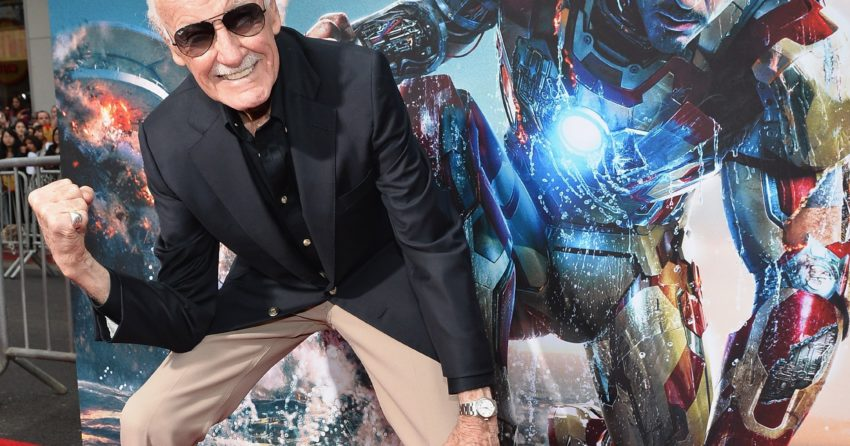 Photo de Stan Lee à l'AP d'Iron Man 3