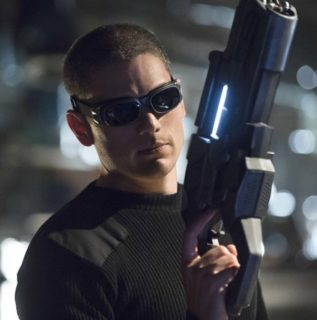 Photo de la série The Flash avec Captain Cold joué par Wentworth Miller