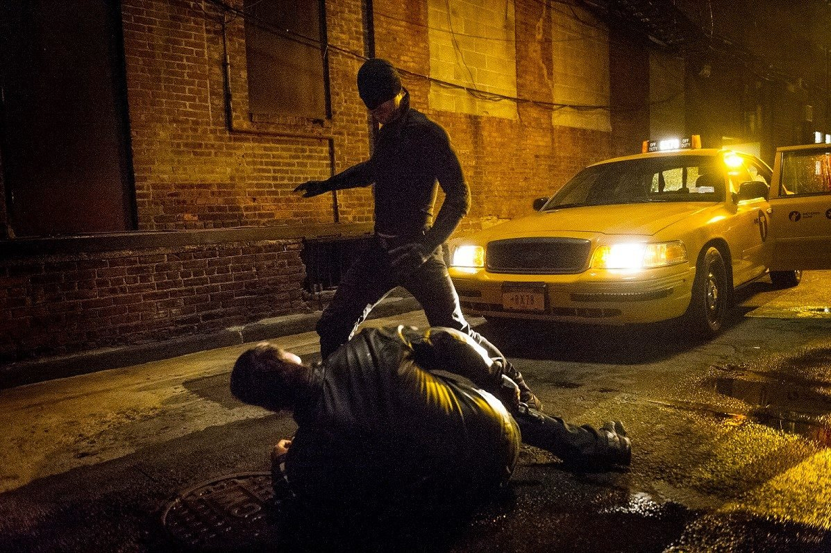 Photo de la série Daredevil produite par Marvel Television