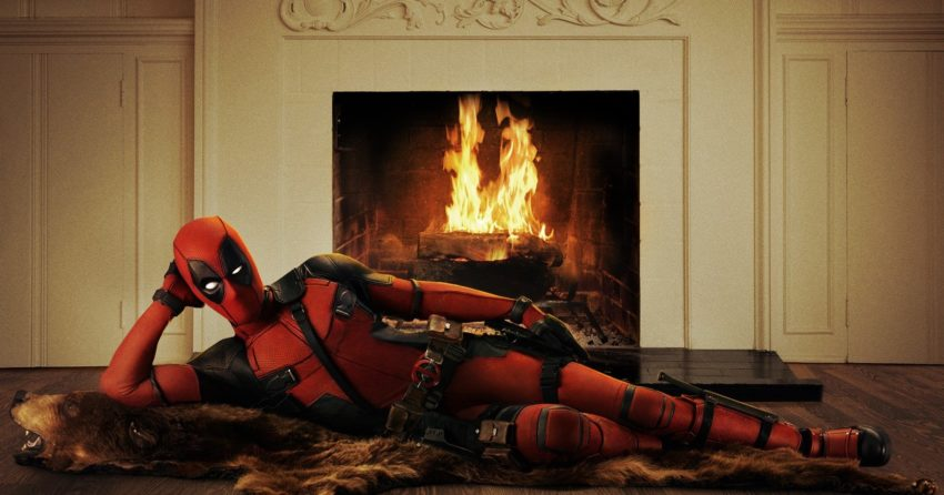 Photo du film Deadpool présentant le costume complet