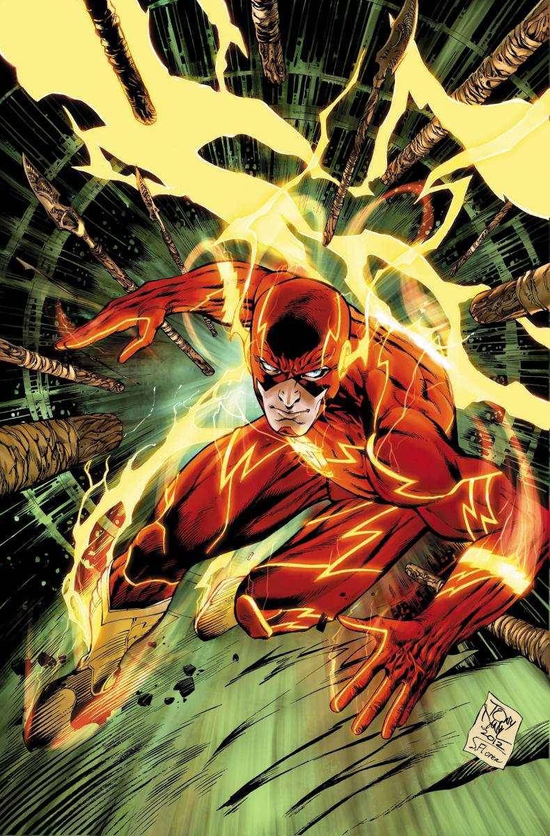 Couverture du numéro 9 du comic The Flash