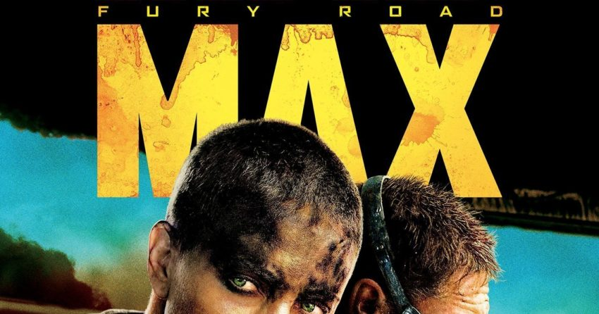 "Poster du film Mad Max: Fury Road réalisé par George Miller avec la tagline ""The Future belongs to the Mad"""