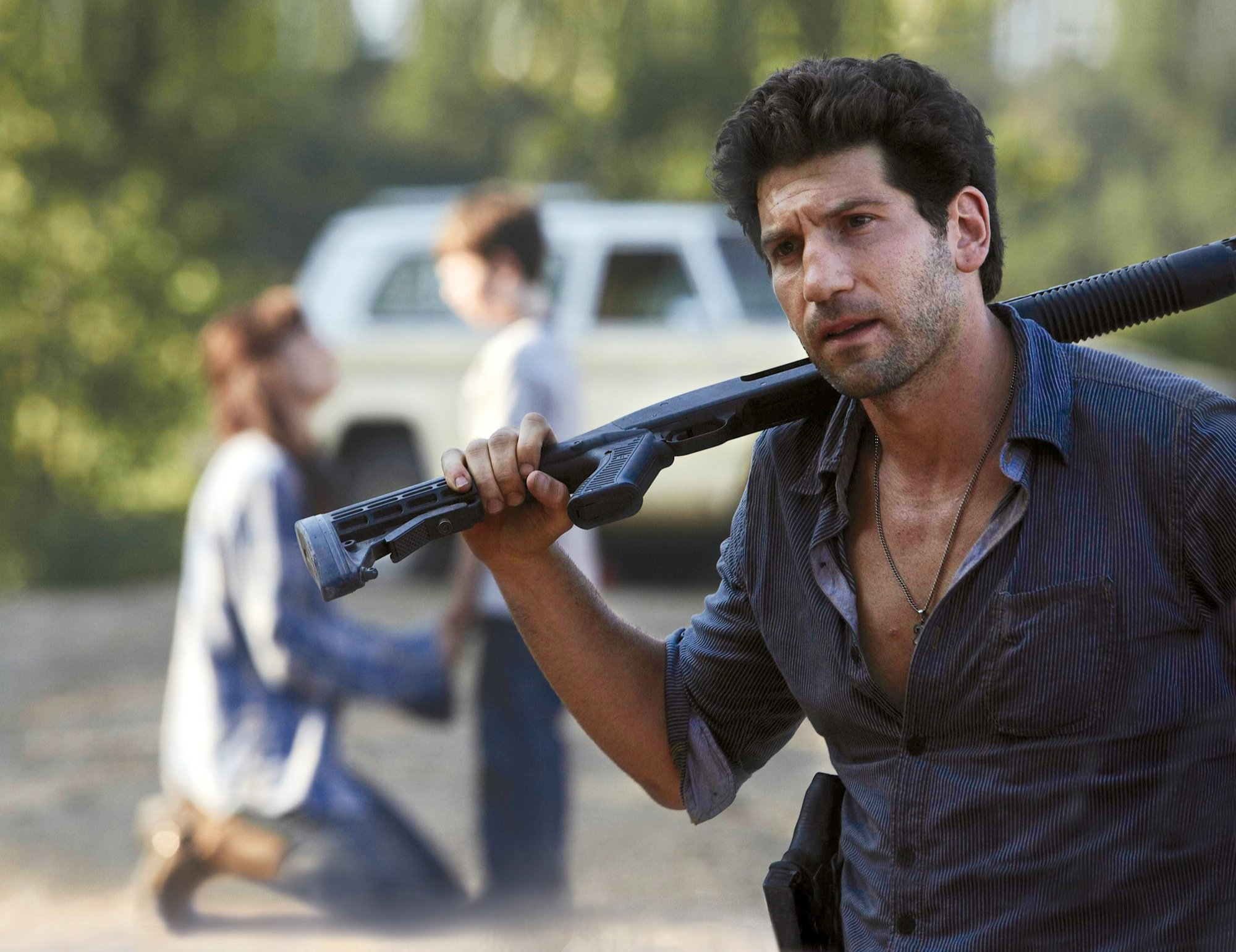 Photo de Jon Bernthal dans la série The Walking Dead