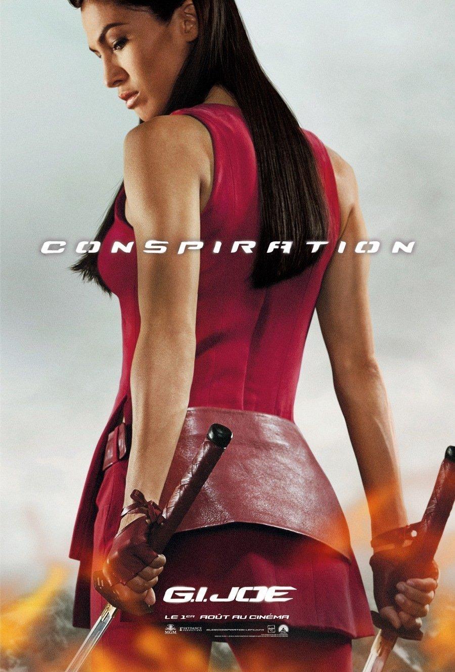 Poster du film G.I. Joe : Conspiration avec Jinx (Elodie Yung)