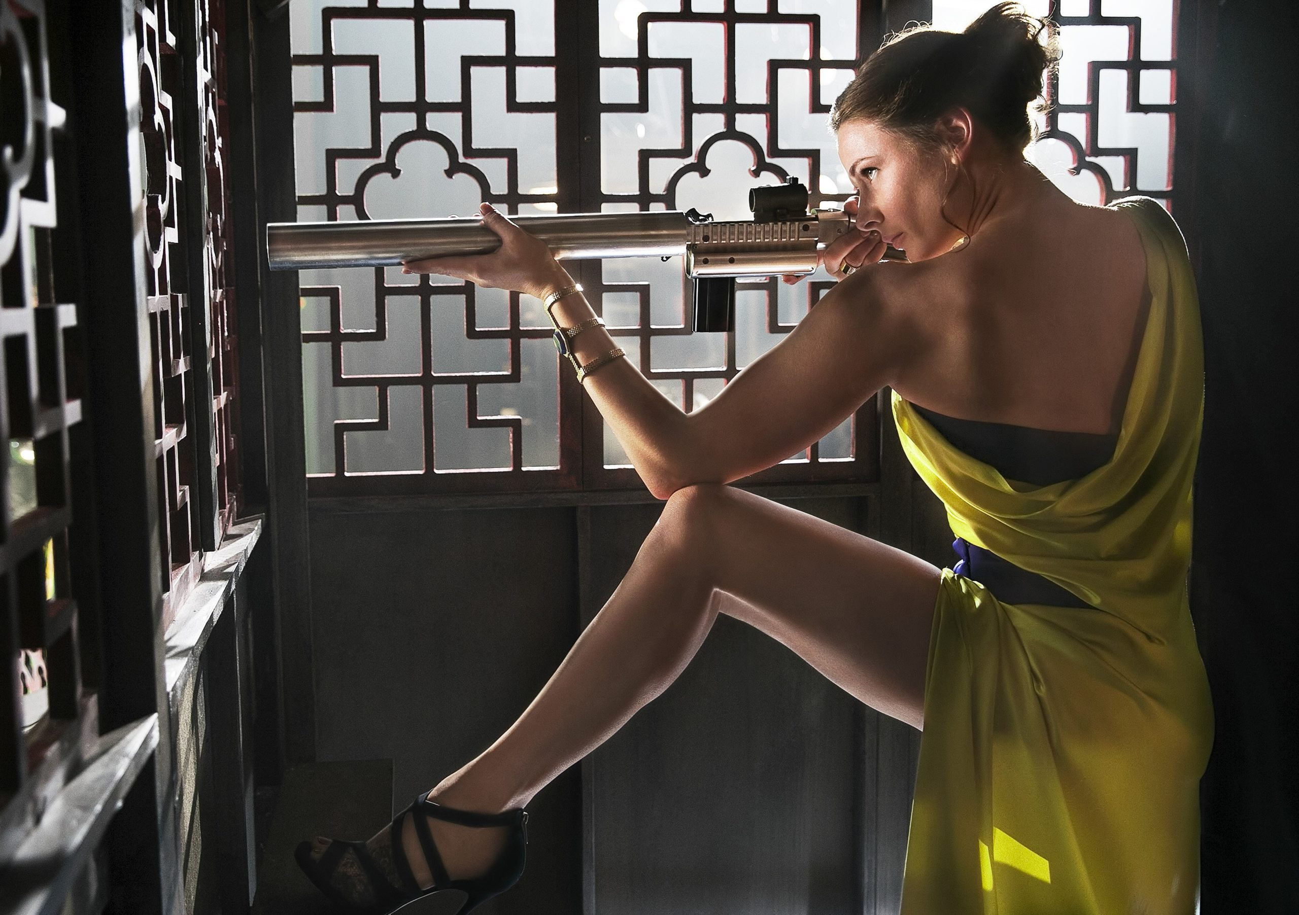 Photo du film Mission: Impossible Rogue Nation réalisé par Christopher McQuarrie, d'après un scénario écrit par Drew Pearce et Will Staples, avec Rebecca Ferguson