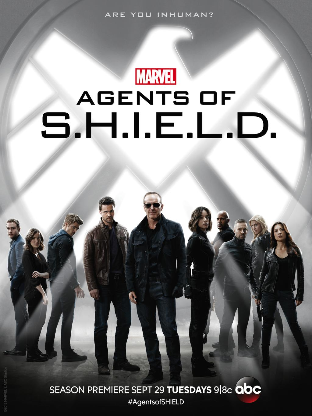 Poster de la saison 3 d'Agents of SHIELD