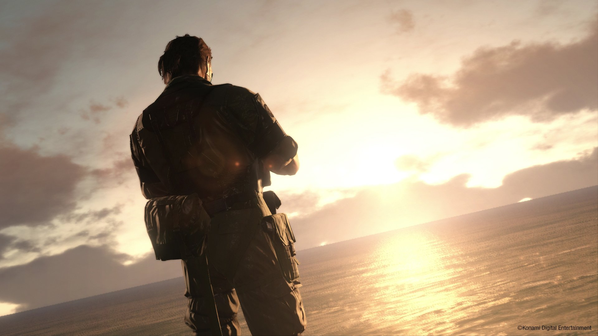 Image du jeu vidéo Metal Gear Solid V: The Phantom Pain avec Big Boss