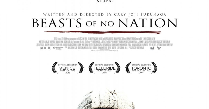 Poster du film Beasts Of No Nation réalisé par Cary Fukunaga avec Abraham Attah