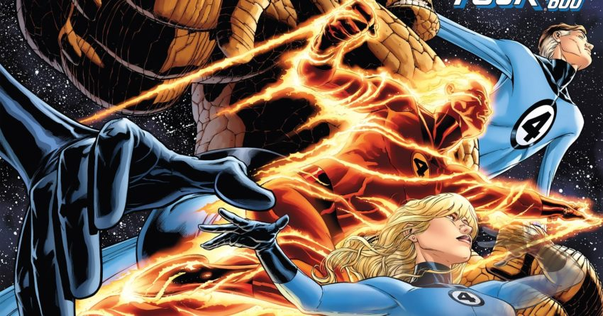 Couverture du comic Marvel, Fantastic Four Vol 1 600 (Queseda Variant)