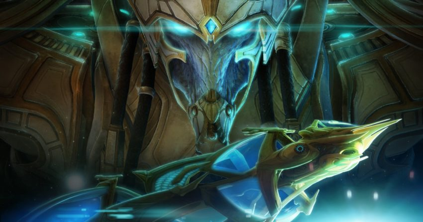 Poster du jeu vidéo de Blizzard Entertainment, StarCraft 2: Legacy of the Void
