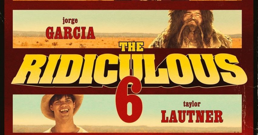 Poster du film The Ridiculous 6