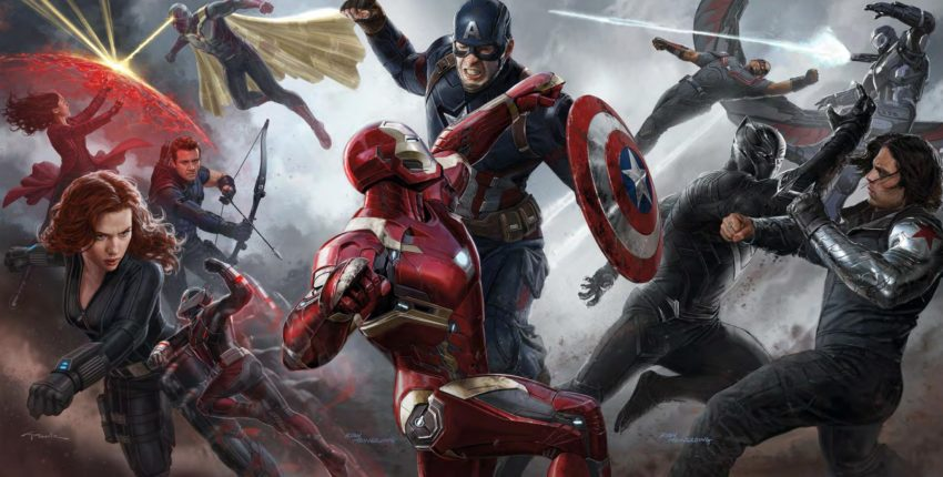 Concept art de Captain America: Civil War réalisé par Anthony et Joe Russo