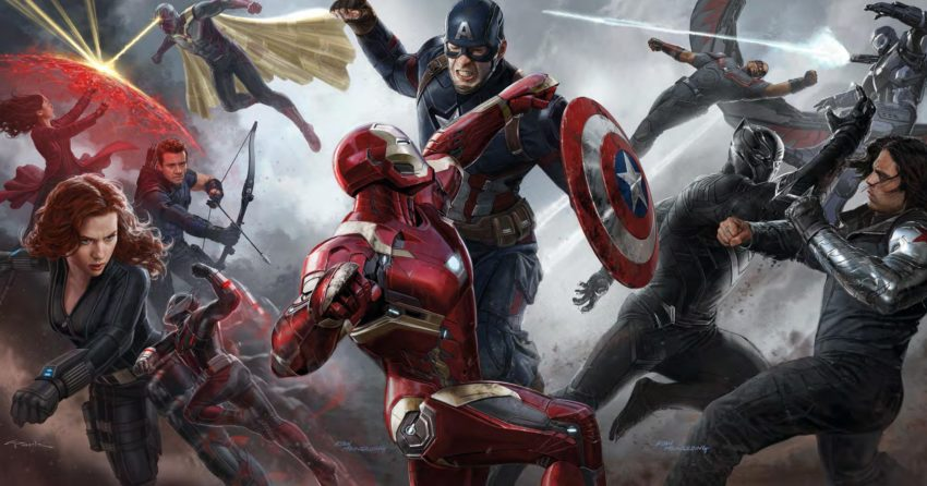Concept art par Ryan Meinerding pour le film Captain America: Civil War réalisé par Anthony et Joe Russo