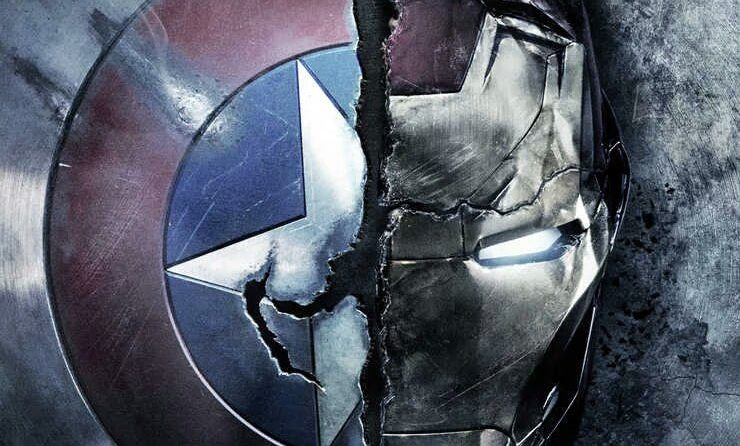 Couverture Empire pour Captain America: Civil War