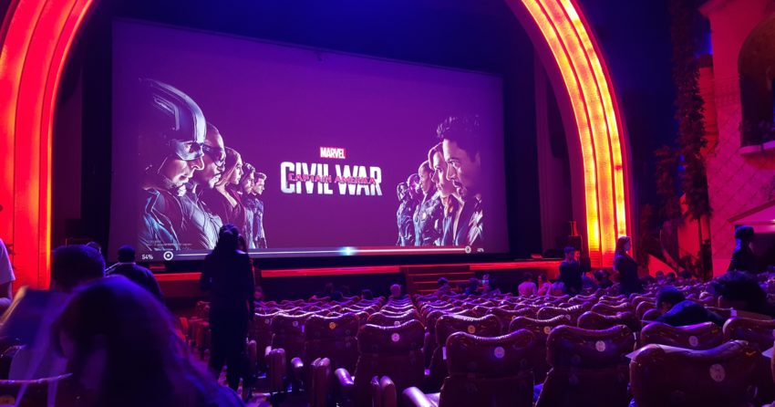 Photo de l'avant-première française au Grand REX de Captain America: Civil War