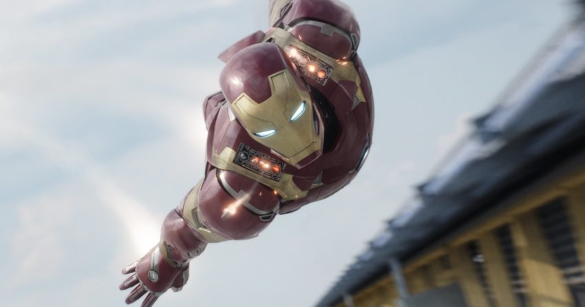 Photo de Captain America: Civil War avec Iron Man