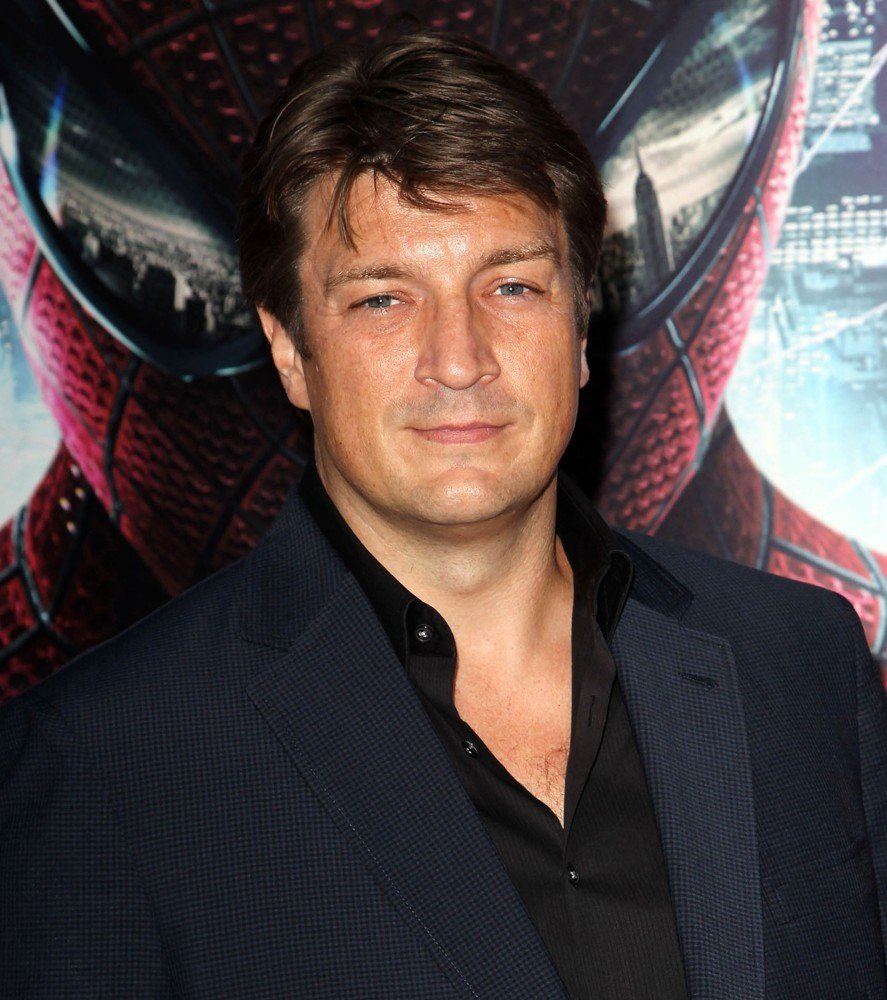 Photo de Nathan Fillion à l'avant-première The Amazing Spider-Man