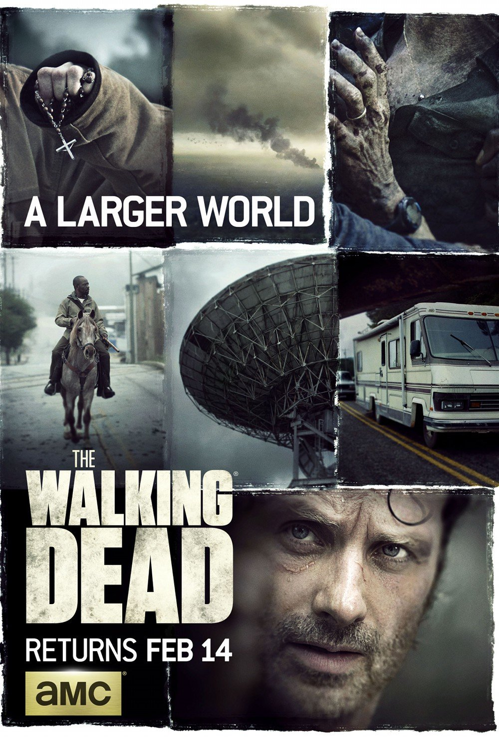 Poster de la saison 6 de The Walking Dead