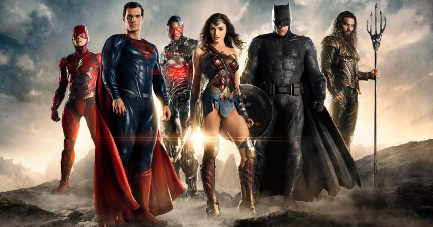 Première photo de Justice League avec Flash, Superman, Cyborg, Wonder Woman, Batman et Aquaman