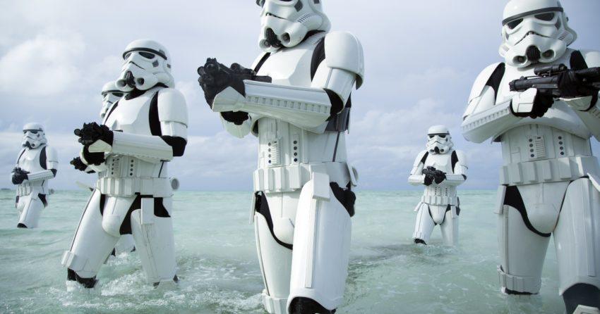 Photo de Rogue One: A Star Wars Story avec les Stormtroopers