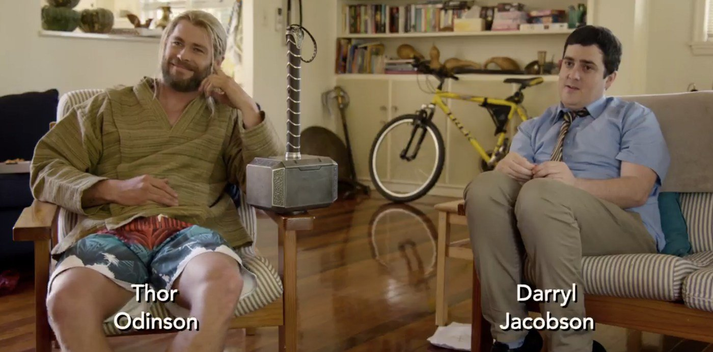 Photo de While You Were Fighting: A Thor Mockumentary