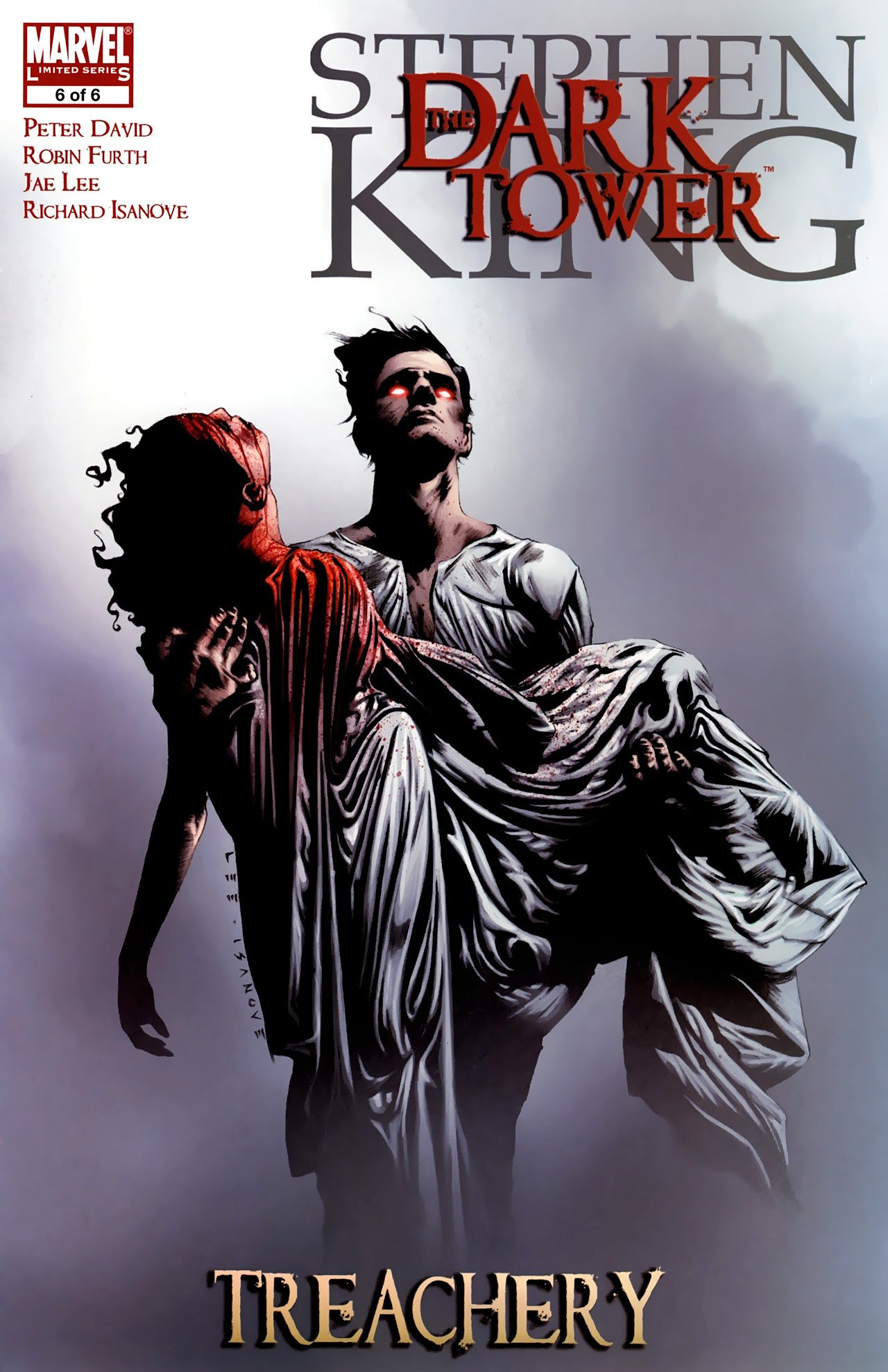 Couverture de The Dark Tower: Treachery (Vol 1 - 6)