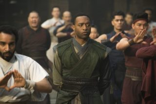 Photo de Doctor Strange avec Chiwetel Ejiofor