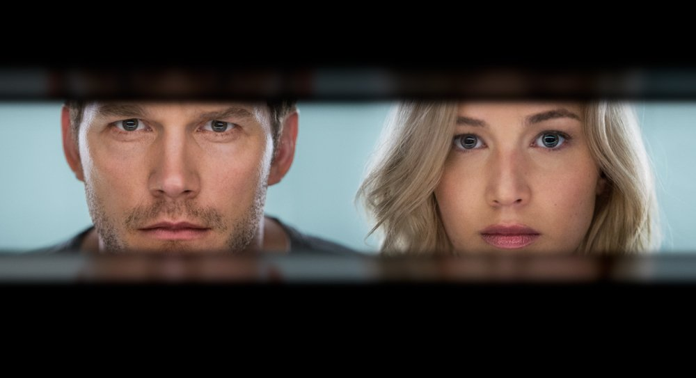 Photo du film Passengers avec Jennifer Lawrence et Chris Pratt