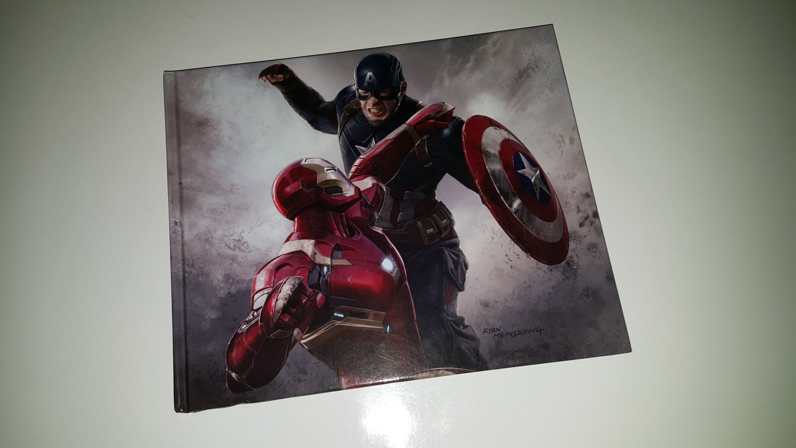 Photo du livre Tout l'art de Captain America: Civil War