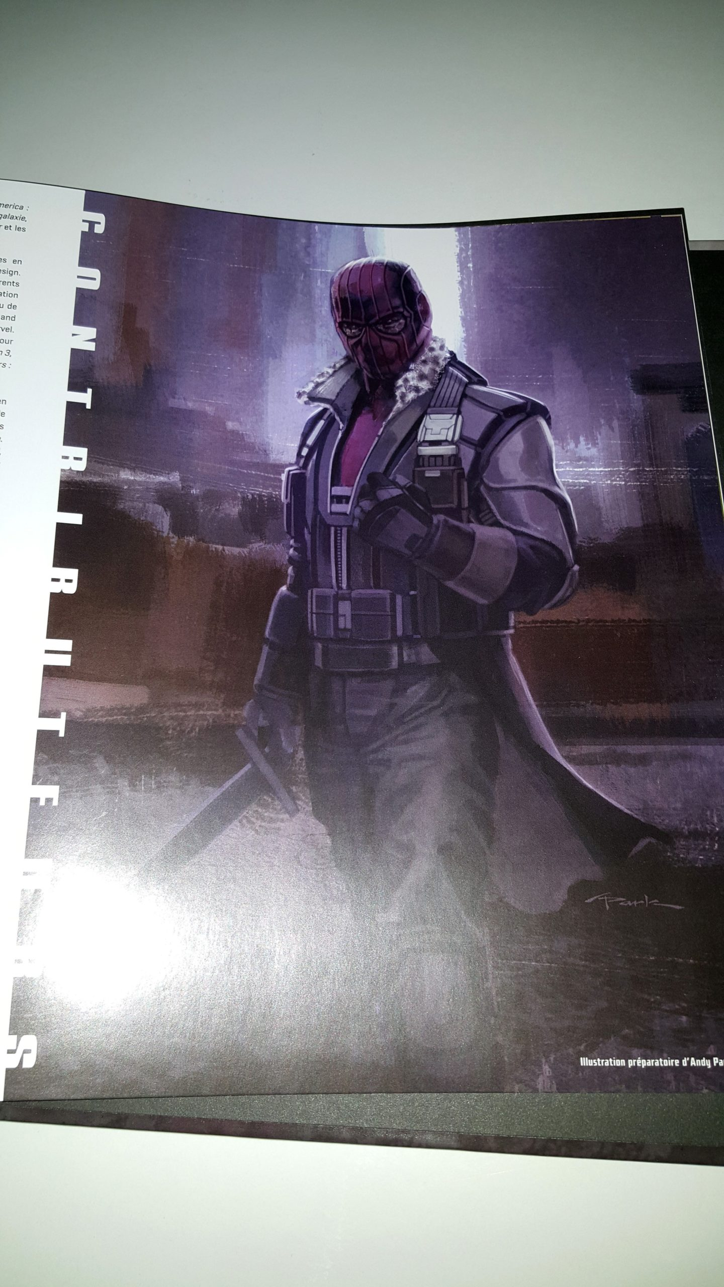 Photo de Tout l'art de Captain America: Civil War avec Baron Zemo